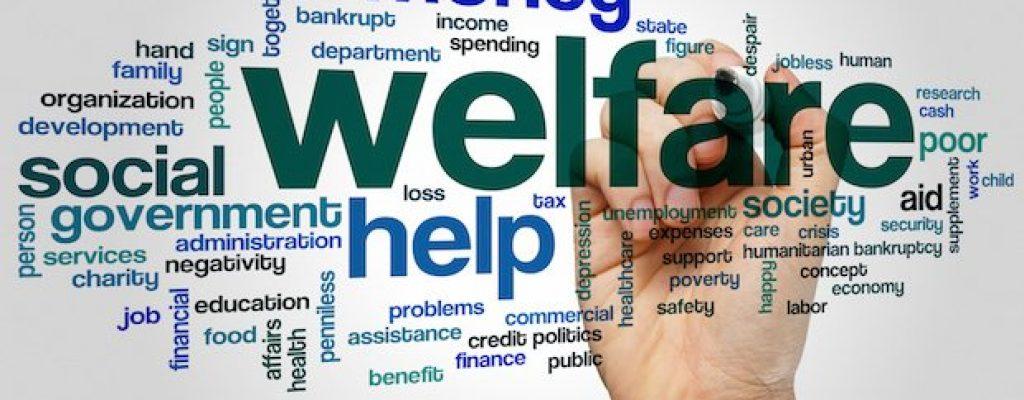 Welfare word cloud