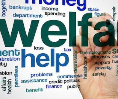 Welfare word cloud